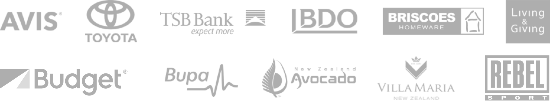 Logos of companies using QJumpers software